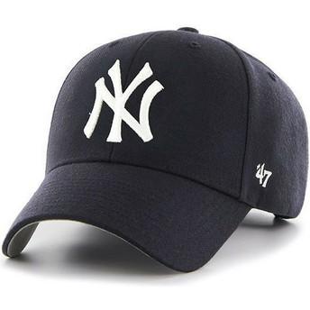 Boné curvo azul marinho para criança da New York Yankees MLB MVP da 47 Brand