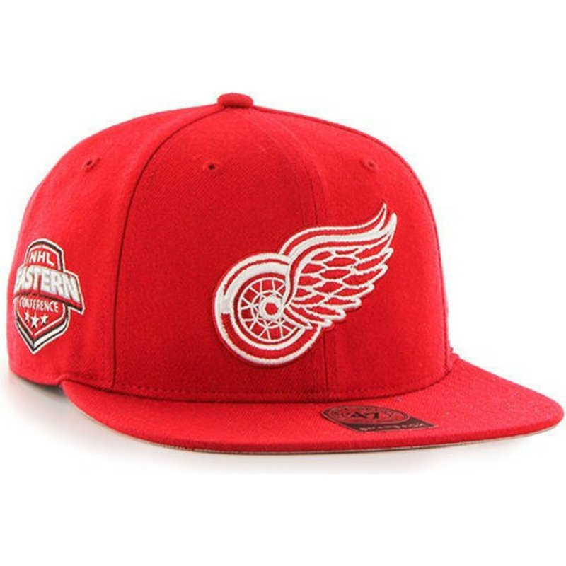 bone-plano-vermelho-snapback-da-detroit-red-wings-nhl-captain-da-47-brand