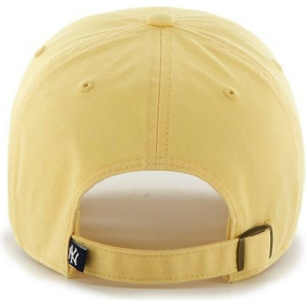 bone-curvo-amarelo-da-new-york-yankees-mlb-clean-up-da-47-brand