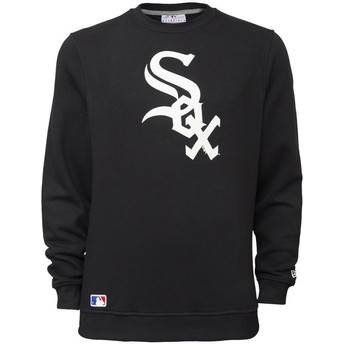 Sweatshirt preto Crew Neck da Chicago White Sox MLB da New Era