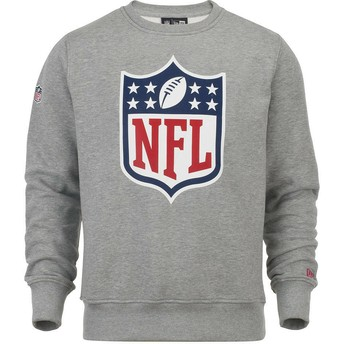 Sweatshirt cinza Crew Neck da NFL da New Era