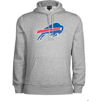 Moletom com capuz cinza Pullover Hoodie da Buffalo Bills NFL da New Era
