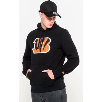 Moletom com capuz preto Pullover Hoodie da Cincinnati Bengals NFL da New Era