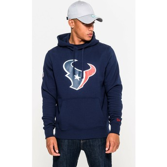 Moletom com capuz azul Pullover Hoodie da Houston Texans NFL da New Era