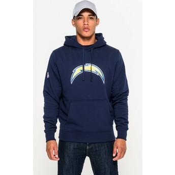 Moletom com capuz azul Pullover Hoodie da San Diego Chargers NFL da New Era