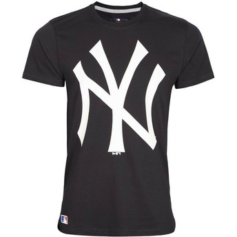 Camiseta de manga curta azul marinho da New York Yankees MLB da New Era