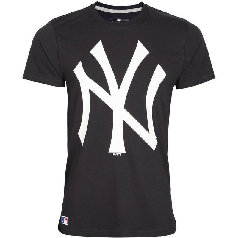 73700e29d442c Camiseta de manga curta azul marinho da New York Yankees MLB da New ...