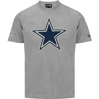 Camiseta de manga curta cinza da Dallas Cowboys NFL da New Era