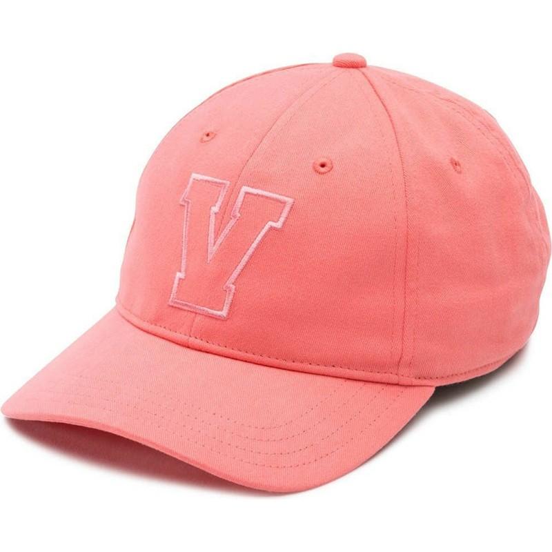 ab2b93e714b Boné curvo rosa Dugout com logo V da Vans  comprar online en Caphunters