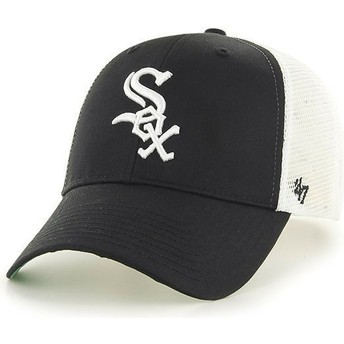 Boné trucker preto da Chicago White Sox MLB da 47 Brand