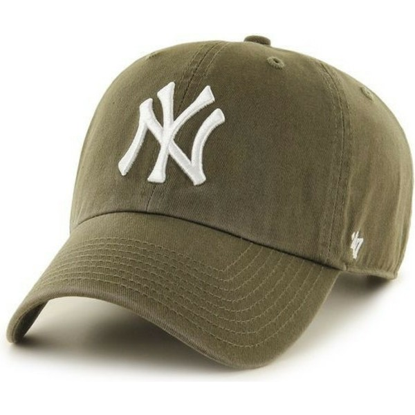 bone-curvo-castanho-da-new-york-yankees-mlb-clean-up-da-47-brand