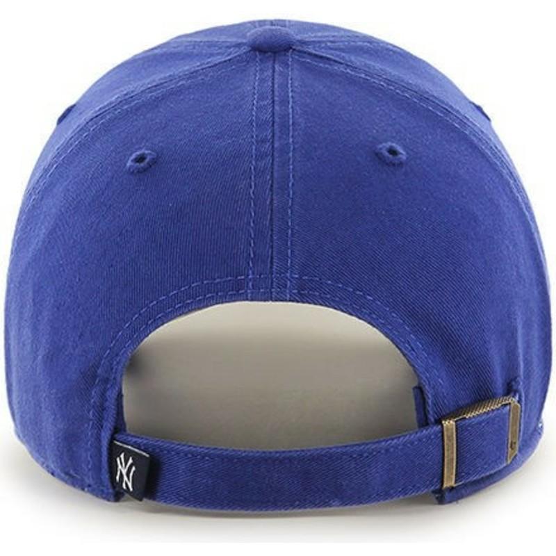 8201dfd9725dc Boné curvo azul para criança da New York Yankees MLB Clean Up Youth ...