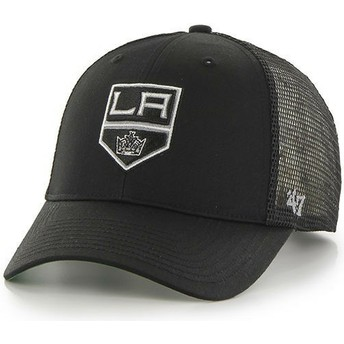 Boné trucker preto da Los Angeles Kings NHL MVP Branson da 47 Brand