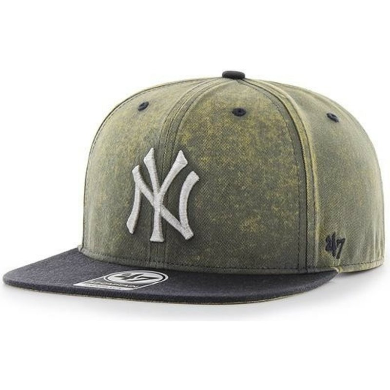 bone-plano-azul-marinho-da-new-york-yankees-mlb-captain-cement-da-47-brand