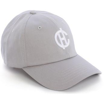 Boné curvo cinza Aspen com logo CH da Caphunters