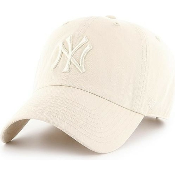 bone-curvo-creme-com-logo-creme-da-new-york-yankees-mlb-clean-up-da-47-brand