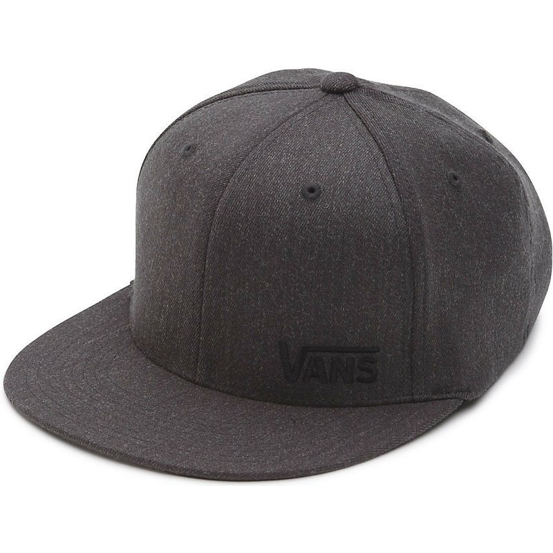 440d1c154a7cd Boné plano cinza escuro justo Splitz Flexfit da Vans  comprar online ...