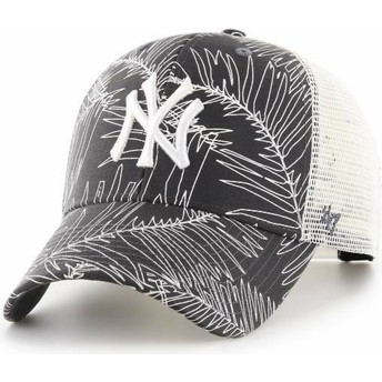 Boné trucker preto da New York Yankees MLB MVP Palma da 47 Brand