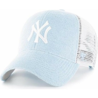 Boné trucker azul claro da New York Yankees MLB MVP Weatherbee da 47 Brand