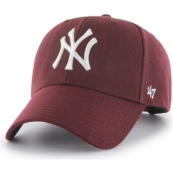 Boné curvo grená snapback da New York Yankees MLB MVP da 47 Brand