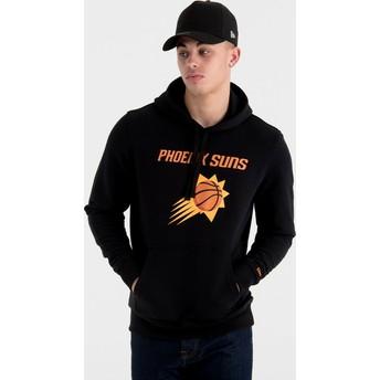 Moletom com capuz preto Pullover Hoody da Phoenix Suns NBA da New Era