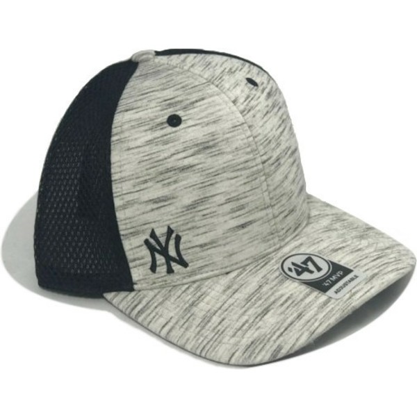 bone-trucker-cinza-jaspeado-da-new-york-yankees-mlb-mvp-superset-da-47-brand