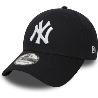 Boné curvo azul marinho justo 39THIRTY Classic da New York Yankees MLB da New Era
