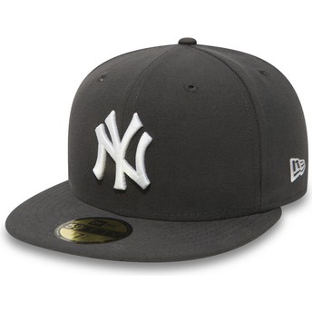 Boné plano piedra justo 59FIFTY Essential da New York Yankees MLB da New Era