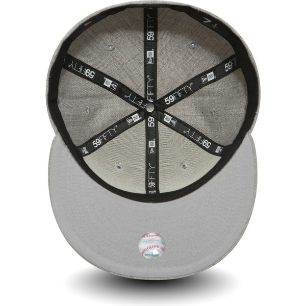 bone-plano-cinza-justo-59fifty-essential-da-new-york-yankees-mlb-da-new-era