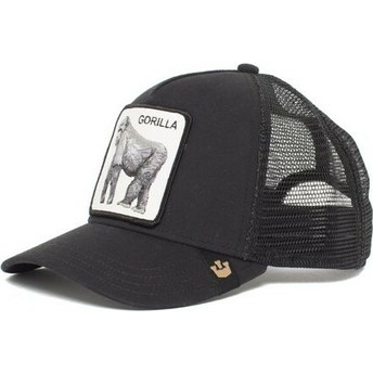 Boné trucker preto gorila King of the Jungle da Goorin Bros.