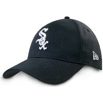 Boné curvo preto ajustável 9FORTY The League da Chicago White Sox MLB da New Era