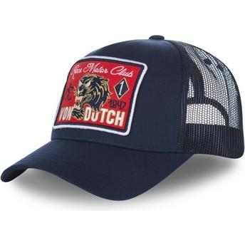 Boné trucker azul marinho FAMOUS2 da Von Dutch