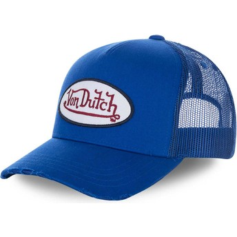 Boné trucker azul FRESH02 da Von Dutch