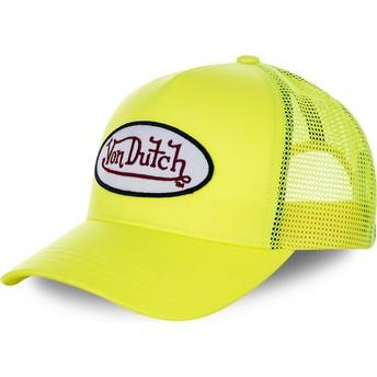 Boné trucker amarelo FRESH05 da Von Dutch