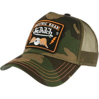 Boné trucker camuflagem SQUARE4 da Von Dutch