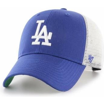 Boné trucker azul da Los Angeles Dodgers MLB MVP Branson da 47 Brand