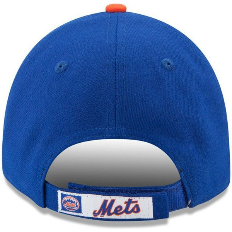 Boné curvo azul ajustável 9FORTY The League da New York Mets MLB da ... 8069314ab71