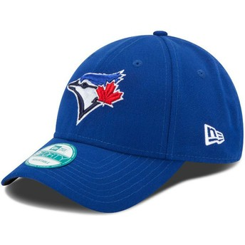 Boné curvo azul ajustável 9FORTY The League da Toronto Blue Jays MLB da New Era