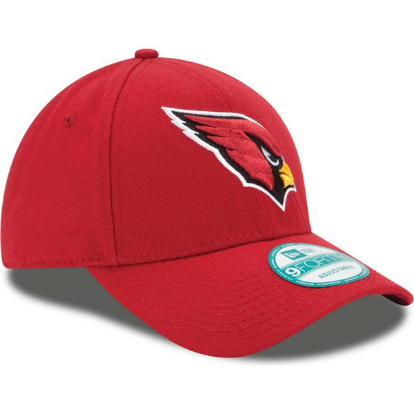 bone-curvo-vermelho-ajustavel-9forty-the-league-da-arizona-cardinals-nfl-da-new-era