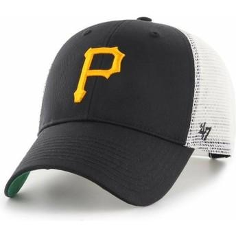 Boné trucker preto da Pittsburgh Pirates MLB MVP Branson da 47 Brand