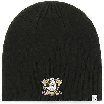 Gorro preto da Anaheim Ducks NHL da 47 Brand