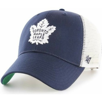 Boné trucker azul marinho da Toronto Maple Leafs NHL MVP Branson da 47 Brand