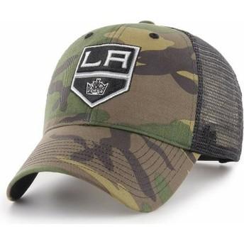 Boné trucker camuflagem da Los Angeles Kings NHL MVP Branson da 47 Brand