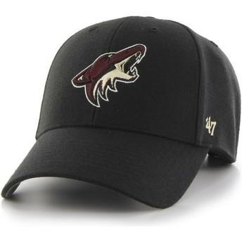 Boné curvo preto da Arizona Coyotes NHL MVP da 47 Brand