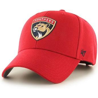 Boné curvo vermelho da Florida Panthers NHL MVP da 47 Brand
