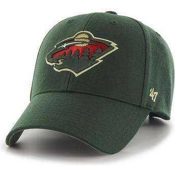Boné curvo verde da Minnesota Wild NHL MVP da 47 Brand