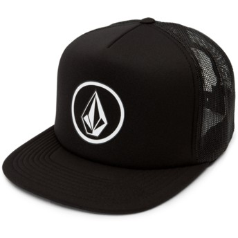 Boné trucker preto Full Frontal Cheese Black da Volcom