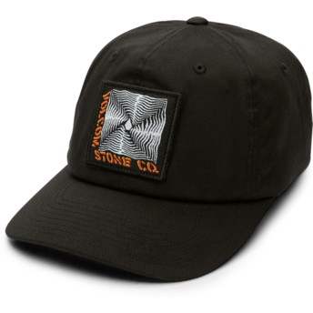 Boné curvo preto justo Stone Radiator Xfit Black da Volcom