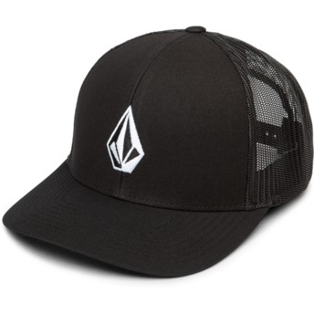 Boné trucker preto Full Stone Cheese New Black da Volcom