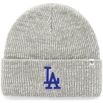 Gorro cinza da Los Angeles Dodgers MLB Cuff Knit Brain Freeze da 47 Brand